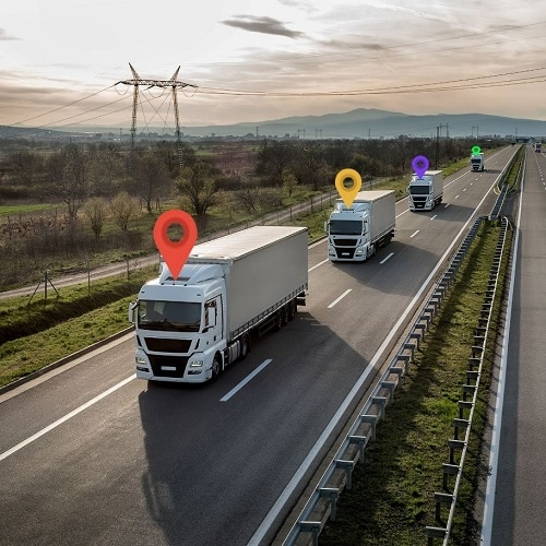 ردیابی جی پی اس کامیون