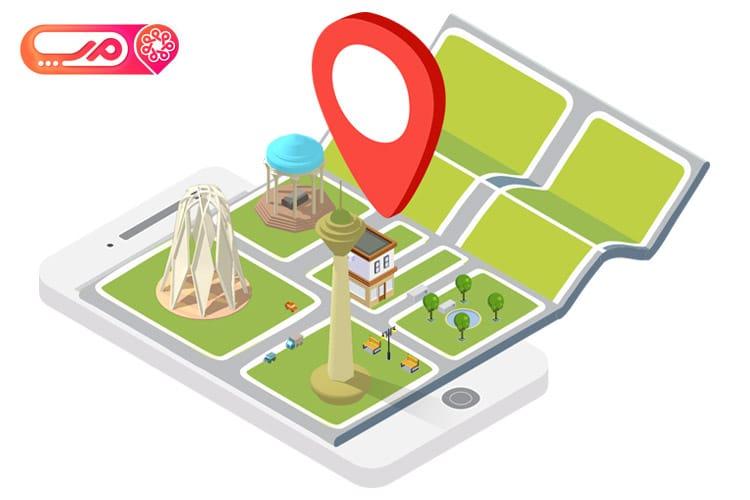 گزارشات دقیق ردیابی با اتصال نرم افزار ردیابی کینگ به سایت map.ir