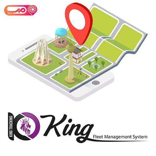 kinggps and Map.ir