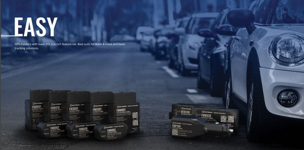 دستگاههای ردیاب خودرو تلتونیکا